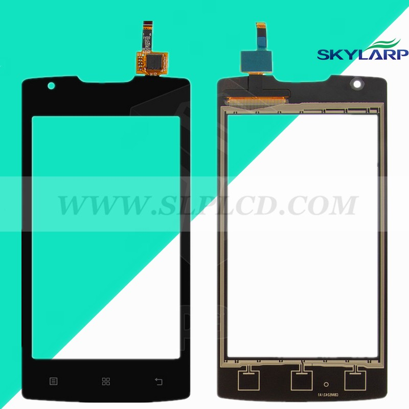 black 4''INCH Touchscreen for Lenovo A1000 Touch Screen Panel Digitizer Glass Lens Repair Replacemen